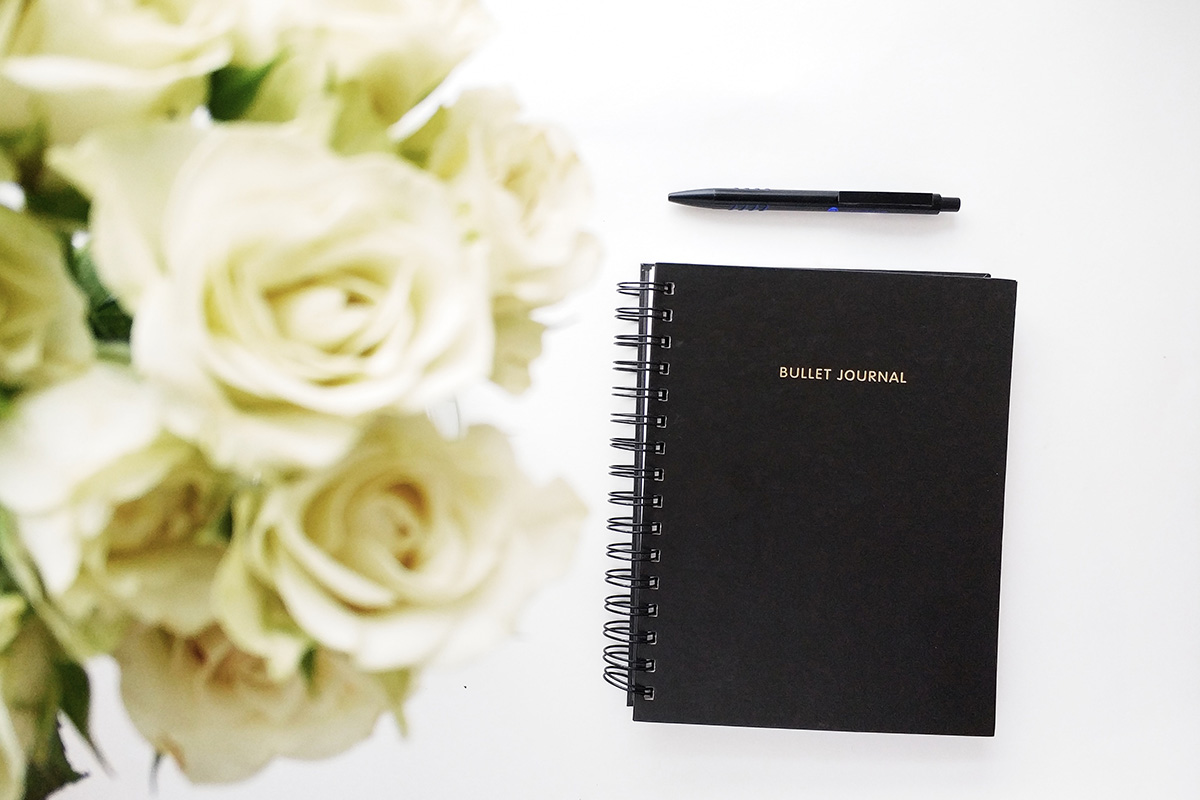 keep a journal of all aspects of your wedding planning so you have a bible to refer to for your wedding at Pentney Abbey