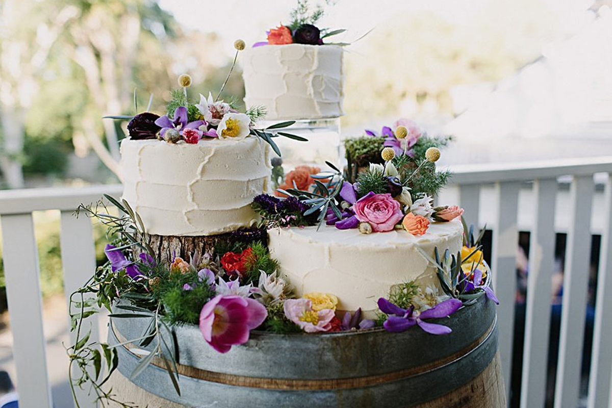 On Trend Wedding Cakes For Your 2019 Wedding Pentney Abbey